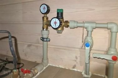 Подмес воды в системе водоснабжения что это?